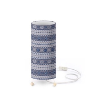 Standing Lamp - Granny's FairIsle  / 3 colour options