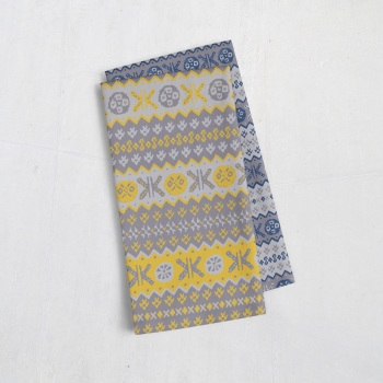 Granny's Fair Isle - Tea Towel