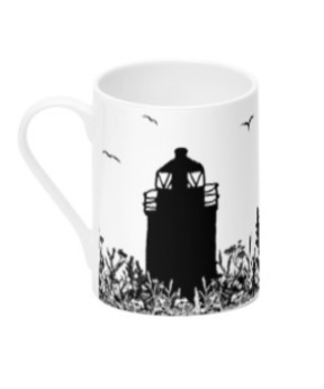 Da Banks Auld Lighthouse - Bone China Mug