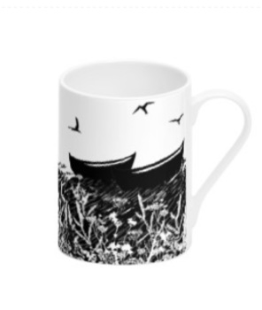 Da Banks Peerie Fishing Boats - Bone China Mug