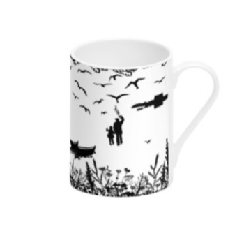 Da Banks Tirricks Diving At Da Hoab - Bone China Mug
