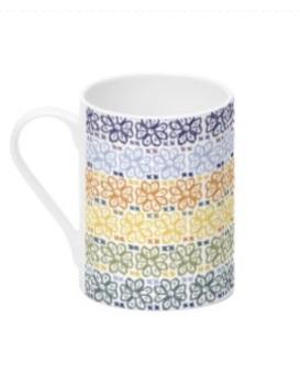 Shetland Fairisle Simmer - Bone China Mug
