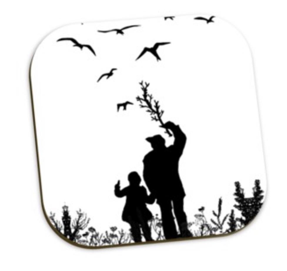 Da Banks Me & Dad - Coaster