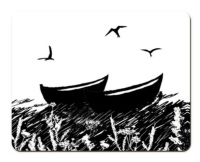 Placemat - Peerie Auld Boats