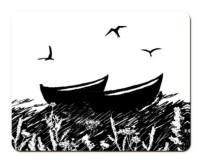 Da Banks Peerie Auld Boats - Placemat