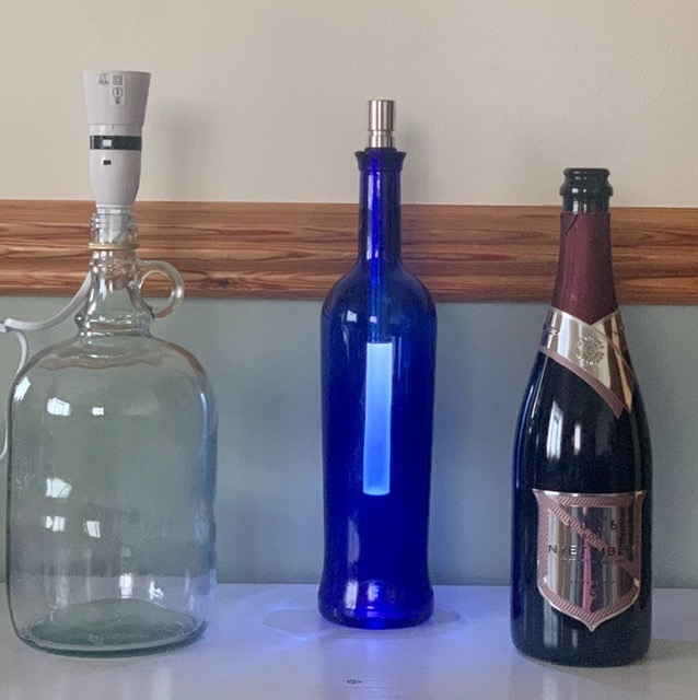 Bottle to lamp converter