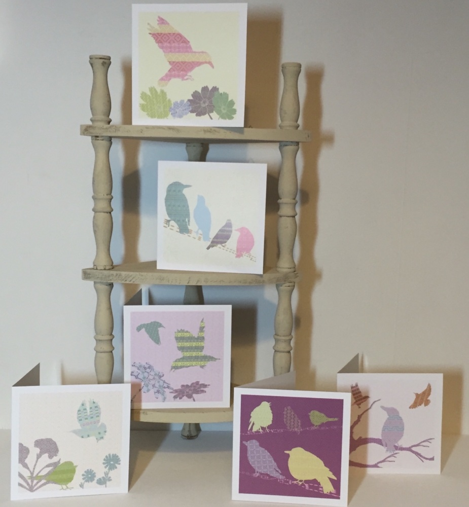 Starling Card set of 6