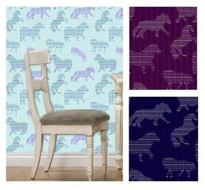 Dancing Shetland Ponies - Wallpaper