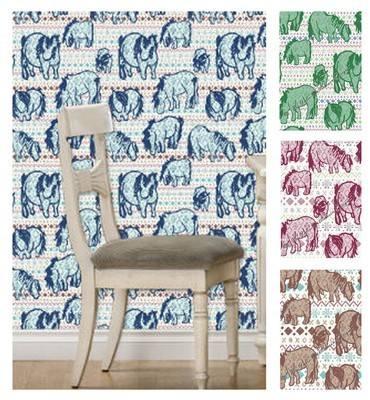 Fair Isle Shetland Ponies - Wallpaper