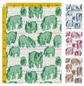Fair Isle Shetland Ponies - Fabric