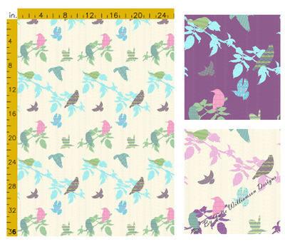 Shetland Starling - Fabric