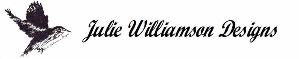 Julie Williamson Designs, site logo.