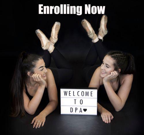 Enrolling Now advert