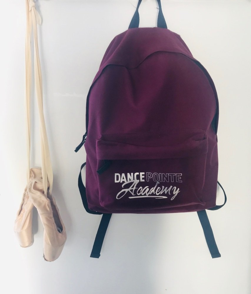 DPA Burgundy Backpack