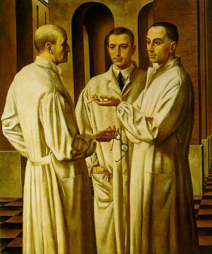 ubaldo oppi the three surgeons 1926