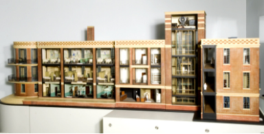 model of hospital for king edwards fund