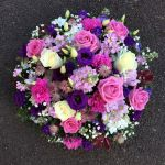 Purple & Lilac Posy Tribute