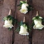 Mens Rose Buttonholes