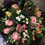 Summer Pinks & White Bouquet from £30