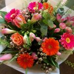 Funky Gerbera Hand Tied from £30