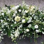 Wild Country Garden Casket Spray