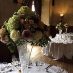 Fanhams Hall Wedding Table Centers