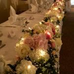 Three Lakes Venue Top Table Display
