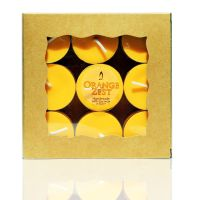 Orange Zest Tea Lights