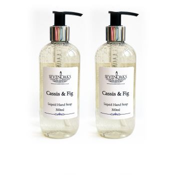 2x Cassis & Fig Liquid Hand Wash