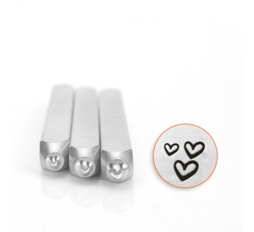 TRIPLE HEART PACKS - 3 STAMPS