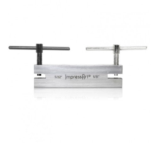 IMPRESSART SCREW DOWN DOUBLE HOLE PUNCH - LARGE SIZE - 5/32 AND