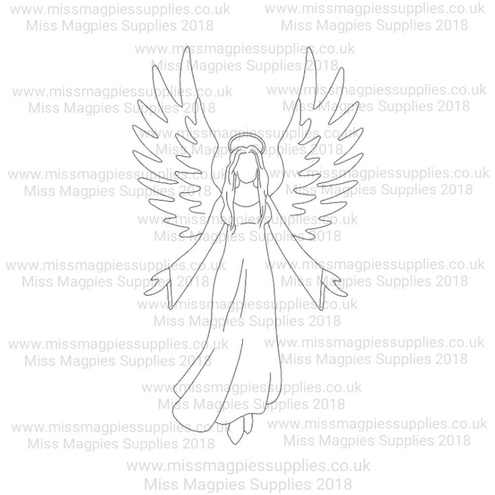 MMS DESIGN STAMP - GUARDIAN ANGEL - 5/8
