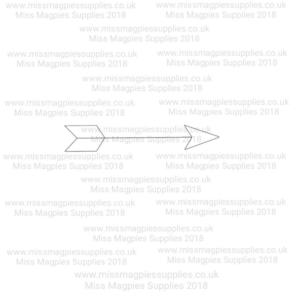 MMS DESIGN STAMP - ARROW - 3/8
