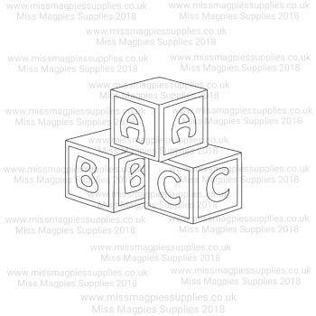 MMS DESIGN STAMP - BLOCKS - PLEASE SELECT SIZE
