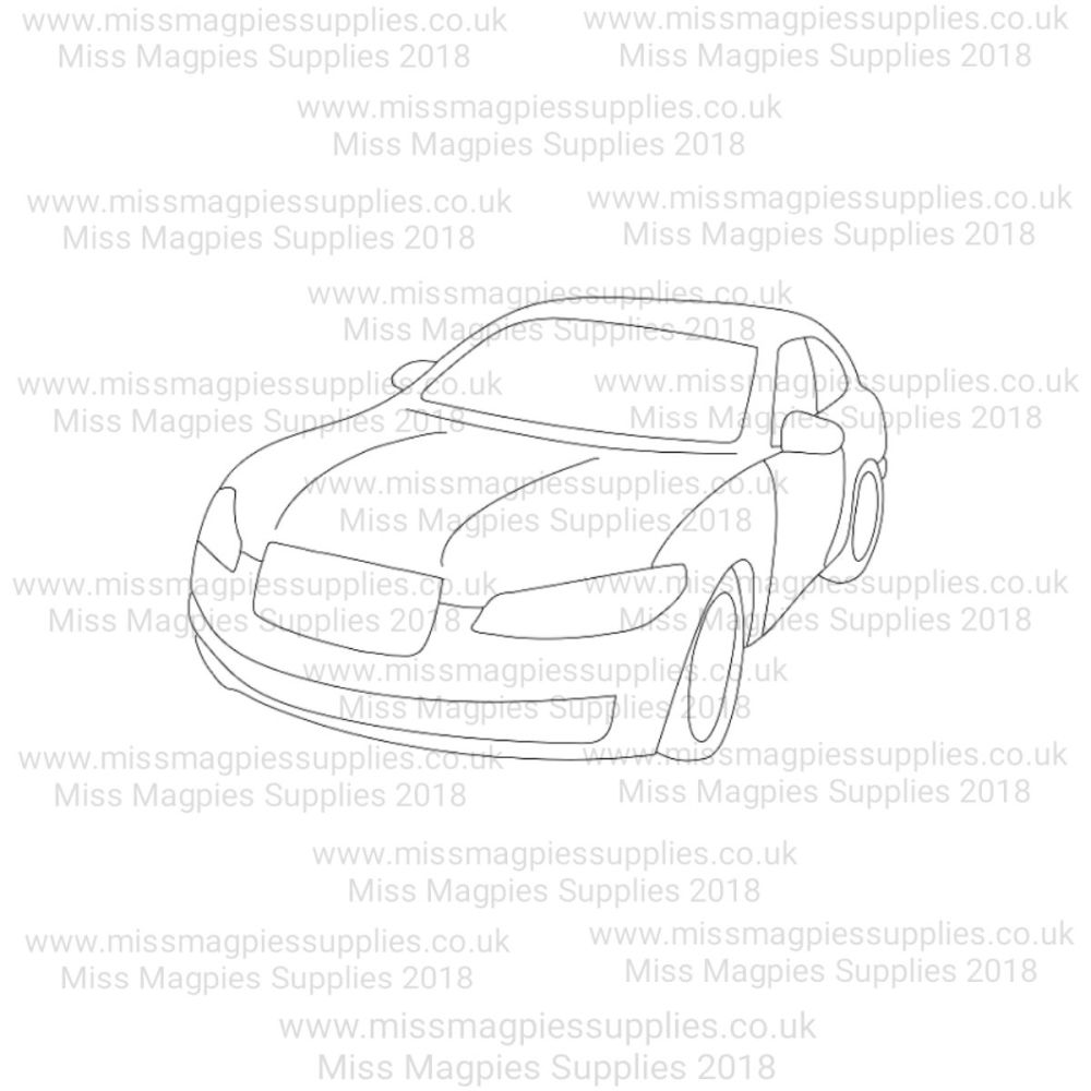 MMS DESIGN STAMP - CAR - SELECT SIZE