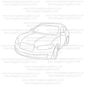 DS010 - MMS DESIGN STAMP - CAR - PLEASE SELECT SIZE