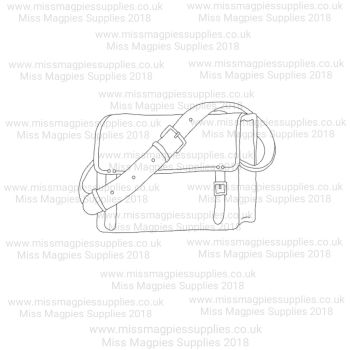 DS044 - MMS DESIGN STAMP - SCHOOL BAG - PLEASE SELECT SIZE