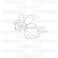 DS061 - MMS DESIGN STAMP - TOOTH FAIRY - PLEASE SELECT SIZE