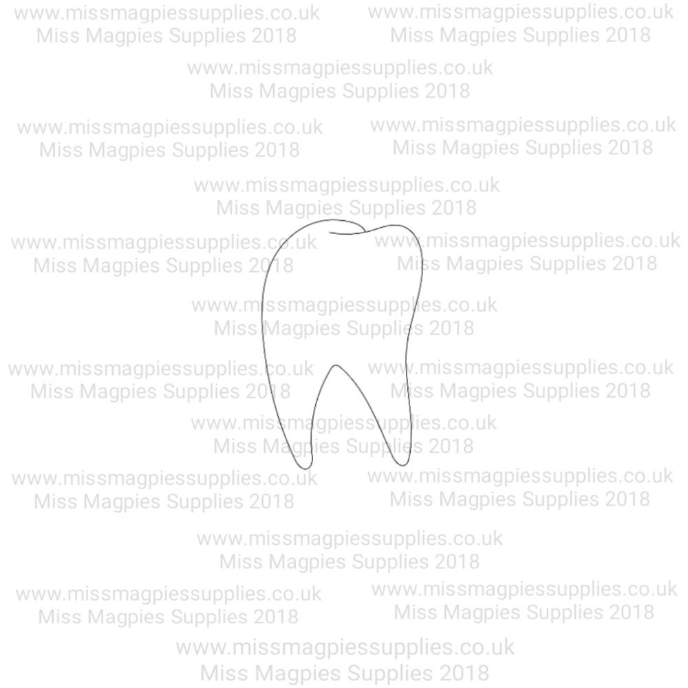 MMS DESIGN STAMP - TOOTH - 1/4