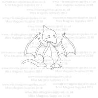 DS071 - MMS DESIGN STAMP - BABY PTERODACTYL - PLEASE SELECT SIZE