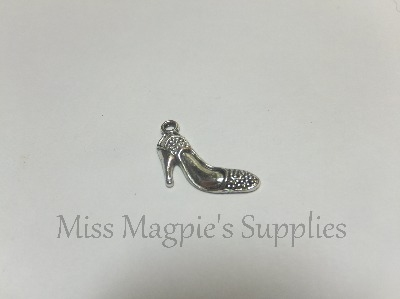 SILVER TONE - FLAT HIGH HEELS - PACK OF 5