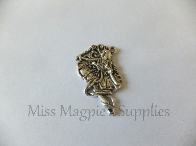 SILVER TONE - LARGE SIDE FACING FAIRY - PACK OF 1