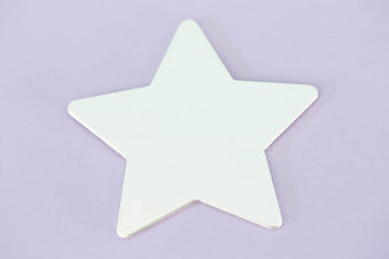 "#140 - 2.75""X2.4"" LARGE STAR ORNAMENT - ALUMINUM STAMPING BLANKS - 14G - PACK OF 5"