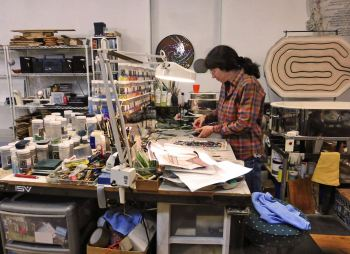 lisa in studio 2