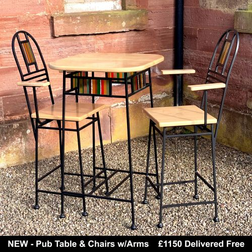 Pub table n Chairs new