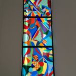 Stained glass Tall