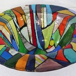 stained glass bowl