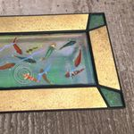 Koi Kite w brass coffee