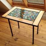 patchwork n oak table