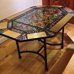 long octagonal colour table